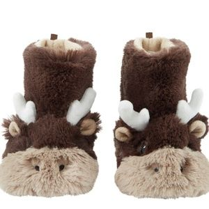 Carter's kids Moose Slippers large 9-10